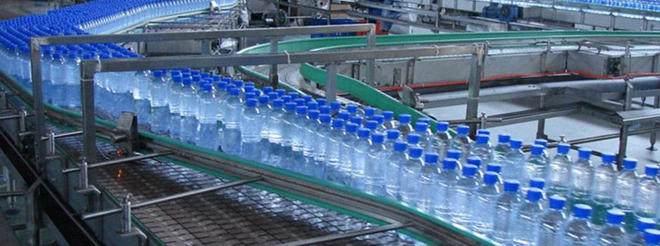 Complete bottling lines for water